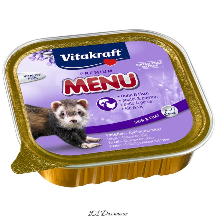 Витакрафт Консервированный корм для хорьков 100гр