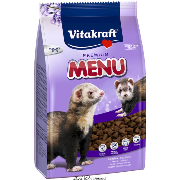 Vitakraft (Витакрафт) Ferret Premium Menu - Полнорационный сбалансированный корм для хорьков.