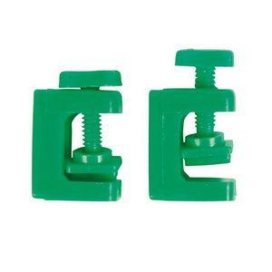 Зажим для шланга ( зеленый )
