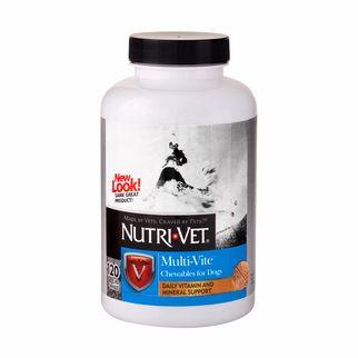Nutri-Vet МУЛЬТИ-ВИТ комплекс витаминов и минералов для собак