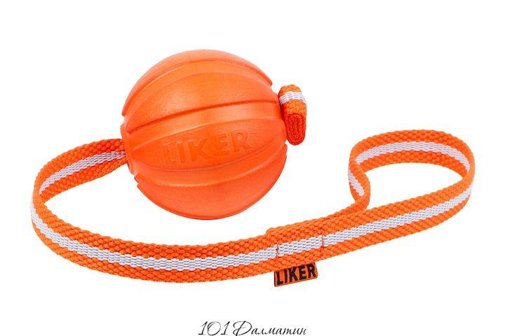 Liker Line - мячик на ленте для собак мелких и средних пород
