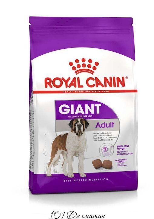 Корм для собак Гигант старше 18-24 месяцев