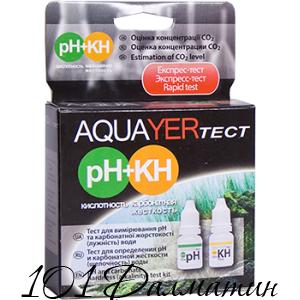 Акваер тест pH+КН