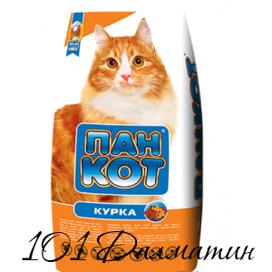 Пан Кот с Курицей Сухой корм для котов