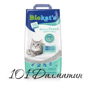 БиоКетс бианко Фреш - наполнитель для кошачьих туалетов