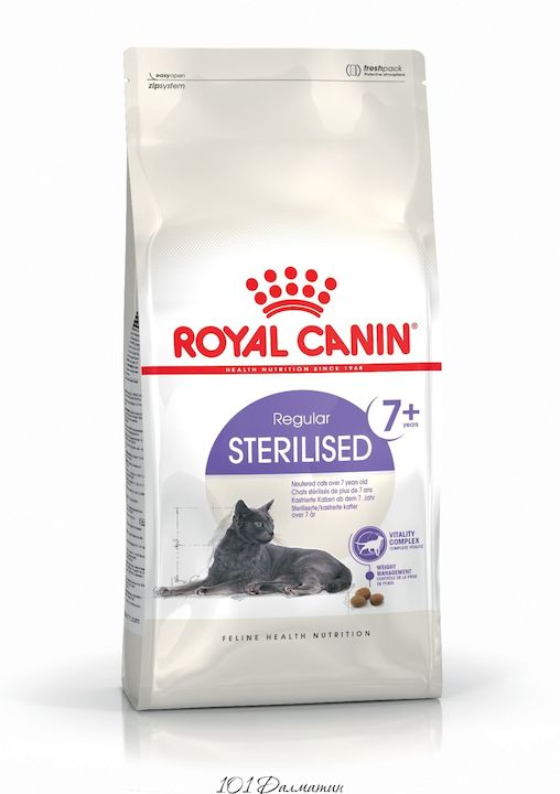 Роял Канин STERILISED 7+ для стерилизованных кошек старше 7 лет