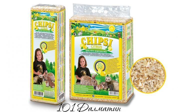 Опилки для грызунов Chipsi цитрус