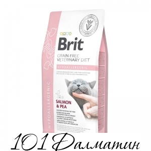 Brit Veterinary Diet Cat Grain free Hypoallergenic.Беззерновая Гипоаллергенная диета.